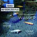 AQUAGUT Bio-Teichklärer kristallklares Wasser im Teich 1 Liter