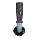 IBC Deckel Filter DN 150 mit HT-Rohr DN 75