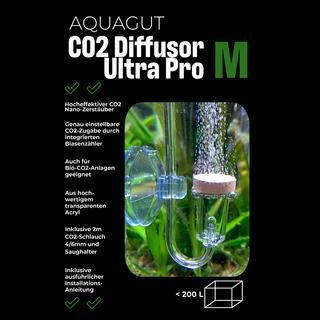 CO2 Diffusor Ultra Pro M