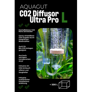 CO2 Diffusor Ultra Pro L