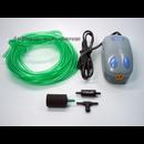 Membranpumpe - Luftpumpe - 5-teiliges Set mit Ausströmer und Pumpentyp M-103 - 230l/h