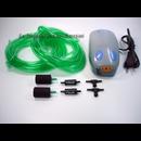 Membranpumpe - Luftpumpe - 9-teiliges Set mit...
