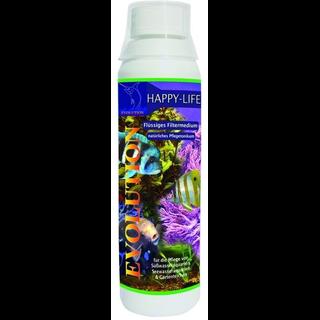 Happy-Life flüssiges Filtermedium - Der Aquarium Wasseraufbereiter für absolut klares Wasser 250 ml